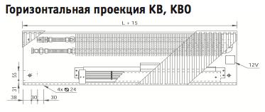 Горизонтальная проекция EVA KB,KBO
